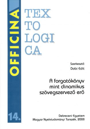 Dobi Edit (szerk.): Officina Textologica 14.