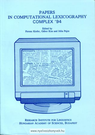 Papers in computational lexicography complex '94