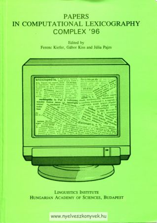Papers in computational lexicography complex ´96